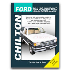 Chilton Repair Manual for 1980-1996 Ford F-250 - Shop Service Garage Book ex