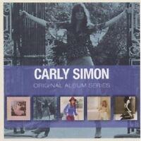 CARLY SIMON - ORIGINAL ALBUM SERIES 5 CD POP NEW+