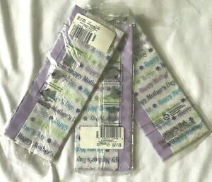 Tissue Paper New Lot (3)  Hallmark Happy Mother's Day 5 Sheets 17 Sq. Feet Gift