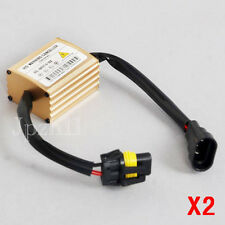 2Pcs HID Xenon Bulbs Warning Decoder Error Canceller Capacitor Anti-flicker New