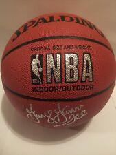 Bill Walton & George Gervin Signed Autographed NBA Full Size Basketball PSA/DNA