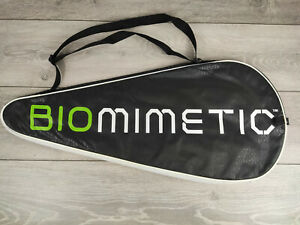 Dunlop Biomimetic Tennis Racket Cover Carrying Bag Case Sports Black S241-12