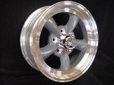 1) TORQ THRUST D 15X 6  VN105 AMERICAN RACING GM CHEVY WHEELS 5 ON 4.75 W/LUG