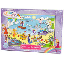Rainbow Magic picnic en la playa a 250 Pieza Rompecabezas