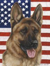 Garden Indoor/Outdoor Patriotic II Flag - German Shepherd 320031