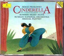 Mikhail PLETNEV: PROKOFIEV Cinderella (Complete Ballet) + Summer Night Suite 2CD