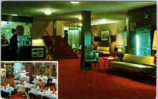 BURNABY, British Columbia B.C.  Canada  ASTOR MOTOR HOTEL  Roadside Postcard
