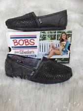 Skechers Luxe Bobs - Big Dreamer Flat Memory Foam Insole Black Size 6
