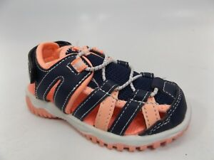 Girl's Toddler CARTER'S CHRISTOG Blue/Pink Casual Sandals SZ 10 M PRE-OWNED *772