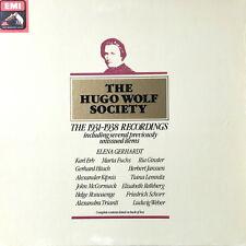 THE HUGO WOLF SOCIETY / The 1931-1938 Recordings / EMI HMV Post-Dog, RLS 759 7LP