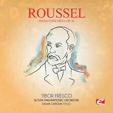 Roussel - Piano Concerto 36 [New CD] Manufactured On Demand, Rmst