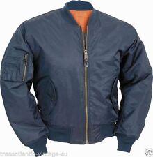 Cappotti e giacche da uomo Bomber, Harrington blu