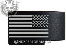 for Glock GEN 1-3 Engraved Magazine Release Standard Blk US Battle Flag