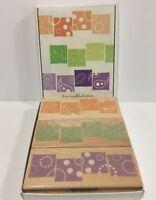 Box Set Of 3 GRAPHIC BLOCKS BORDERS Stamps by Hero ArtsWood Block LL041