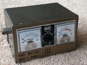 TOS mètre VHF UHF