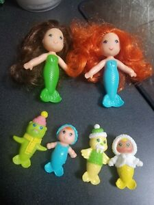 Vintage kenner sea wees Shelly Coral Sprite whiskers Pearl lot