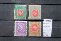 LOT STAMPS OLD LITHUANIA MH* (F104807)