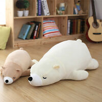 Giant Huge White Polar Bear Stuffed Plush Soft Animal Baby Doll Pillow Toy Gift