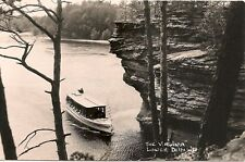 "The ""Virginia"" in the Lower Dells WI RP Postcard"