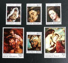 Belgium #B943-8 Paintings - MNH