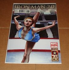 Iron Man 2.0 #7 Captain America 70th Anniversary Variant Edition 1st Print