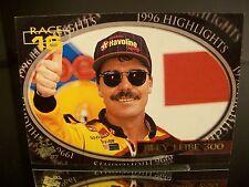 Rare Ernie Irvan Press Pass 1997 Card #101 Race #16 New Hampshire Win 07/14/96