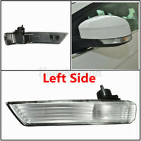 Left Wing Mirror Indicators Turn Signal Light Len Cover For Ford Focu