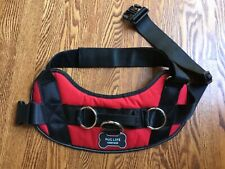 Pug Life Dog Harness Red XXL (85-140 lbs)