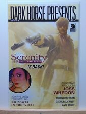 Dark Horse Presents Serenity #1 Joss Whedon Firefly Comics Cb8689