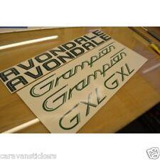 AVONDALE Grampian GXL Caravan Name Stickers Decals Graphics - SET OF