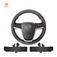 Black Artificial Leather Steering Wheel Cover for Buick Encore Verano Cascada