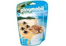 playmobil N° 9071 * Wasserschildkröte mit 4 Babys * viele Zootiere PLAYMOBIL ZOO