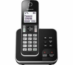 Panasonic TGD620 Cordless Telephone Call Block & Answering Machine – Single ONU