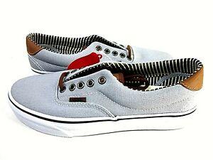 Vans Men's Era 59 Grey/White Sneaker Size 7 Medium VN-0003S4IA7 New In Box