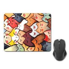 Grigio Gatto Gattino Lovely Mouse Pad Tappetino Mouse PC Computer