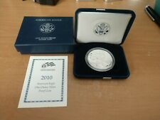 2010 United States Mint American Eagle Silver Proof Coin