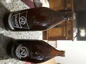 NT Draught Beer Bottle Excellent Condition unopened.One 2.25 litre and 2litre