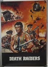 (F02) RARITÄT - DEATH RAIDERS - 1984 Johnny Wilson / Joel Alano