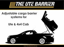 FOR RANGER PX SUPER CAB SPACE CAB ADJUSTABLE CARGO BARRIER  * WITH LED LIGHTS*