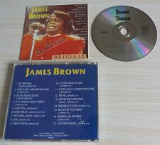 CD ALBUM JAMES BROWN SEX MACHINE ORIGINAL 17 TITRES NO BARRE CODE