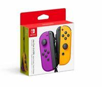 Genuine Joy-Con (L/R) Wireless Controllers for Nintendo Switch - Purple / Orange