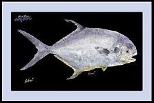 Realfish Gyoyaku Series Permit Fish Mat Floor Mat Doormat with Border 24x36
