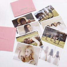 8pcs/set Kpop BLACKPINK Hawaii Summer Diary Post Card Lomo Photocard Collective