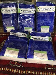 New THERABATH 5 1lb Bags Peach Harmony Refill Professional Paraffin Wax