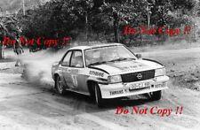 Walter Rohrl Opel Ascona 400 Rallye do Brasil 1982 Photograph 1