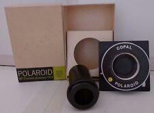 Polaroid MP-3 Land Camera Special Copal Shutter & Tube #219 +Box