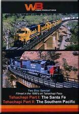Tehachapi Part 1 & 2 Santa Fe Southern Pacific DVD WB