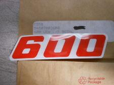 Vintage NOS KTM OEM Left Side Radiator Shroud 600 Decal Graphic LC4 54507003600