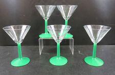 Bicchieri in vetro verde