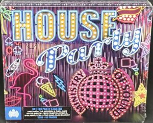 MINISTRY OF SOUND - HOUSE PARTY, VARIOUS, TRIPLE CD ALBUM, (2015), NEW / SEALED.